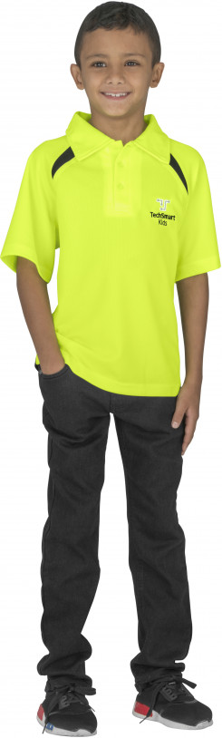 Kids Splice Golf Shirt