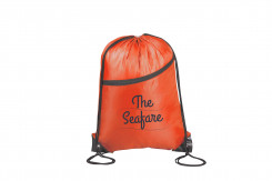 Double-up Drawstring Bag - Red Only