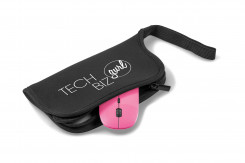 Omega Wireless Optical Mouse & Mouse Pad - Pink Only