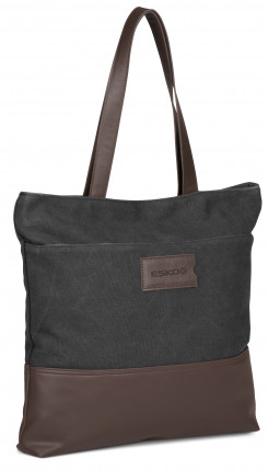 Hamilton Canvas Tote - Charcoal - Charcoal Only