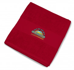 Bahamas Beach Towel - Red - Red Only