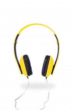 Yomax Wired Headphones - Yellow - Yellow Only
