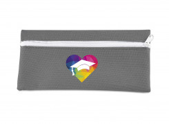 Elementary Pencil Case - White - Solid White Only