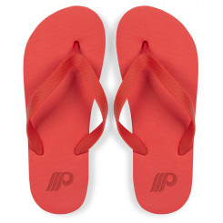Maldives Unisex Flip Flops - Red Only