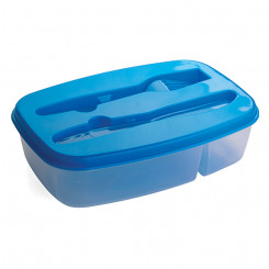 2 Section Food Container