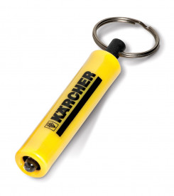 Tubular Torch Keyholder - Yellow Only