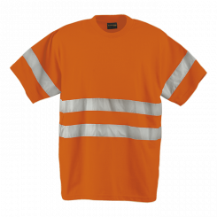 150g Poly Cotton Safety T-Shirt with tape (TSS150BT)