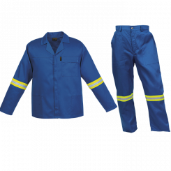 Barron Budget Poly Cotton Conti Suit with Reflective (CS-BR)
