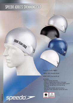 Speedo Adults Swimming Cap - While stocks last