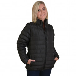 Ladies Zip Off Sleeve Puffer Jacket - Alternative stock
