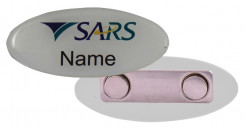 Name Badge Magnet Clip - STD Size (65mm x 25mm)