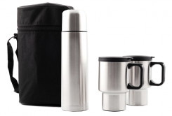 Thermal Flask and Mug Set