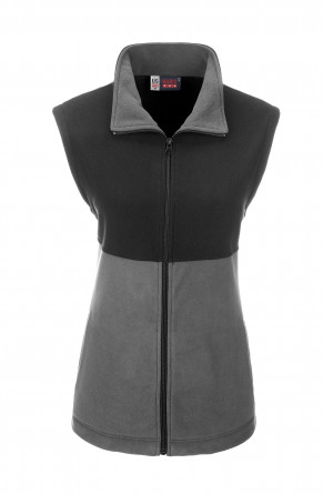 Ladies Benneton Zip-Off Micro Fleece Jacket