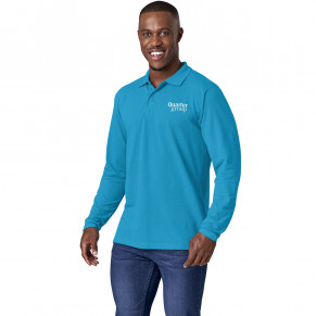 Mens Long Sleeve Elemental Golf Shirt