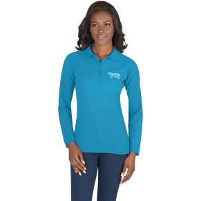 Ladies Long Sleeve Elemental Golf Shirt