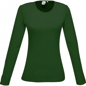 Ladies Long Sleeve Portland T-Shirt - Green Only