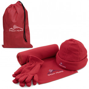 Greenland Fleece Set - Red Only