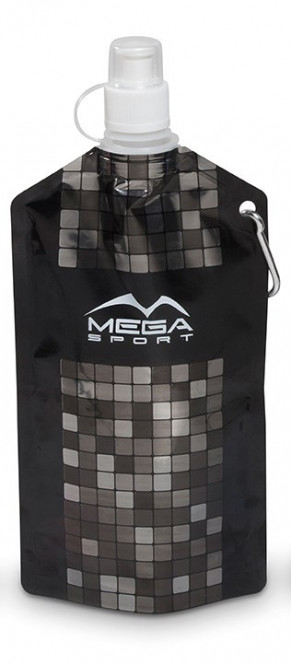 Mosaic Collapsible Water Bottle - Silver Only