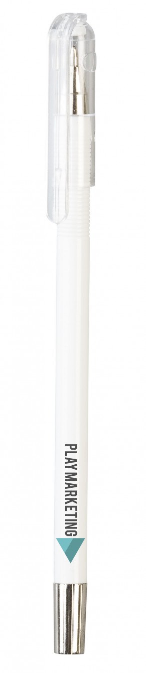 Mac-Blac Ball Pen - Solid White Only