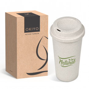 Okiyo Katagi Wheat Straw Tumbler - 450ml