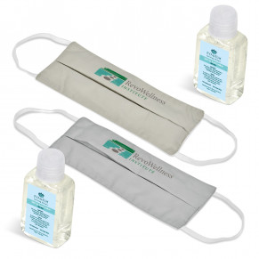 Eva & Elm Munroe Set (Single Face Mask & Sanitiser)