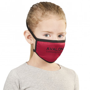 Eva & Elm Sullivan Double Layer Junior Mask - Single