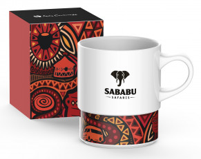 Andy Cartwright 'I Am South African' Coffee Mug - Red Only