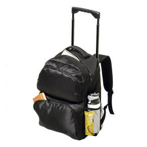 BB0172 - Trolley Backpack with Two Front Zippered Pockets