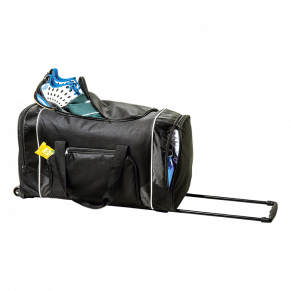 BB0175 - Rolling Duffel with Zippered Front Pocket