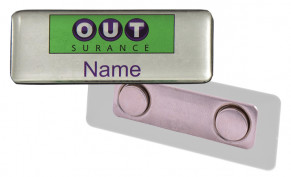 Name Badge Magnet Clip - STD Size (60mm x 20mm)