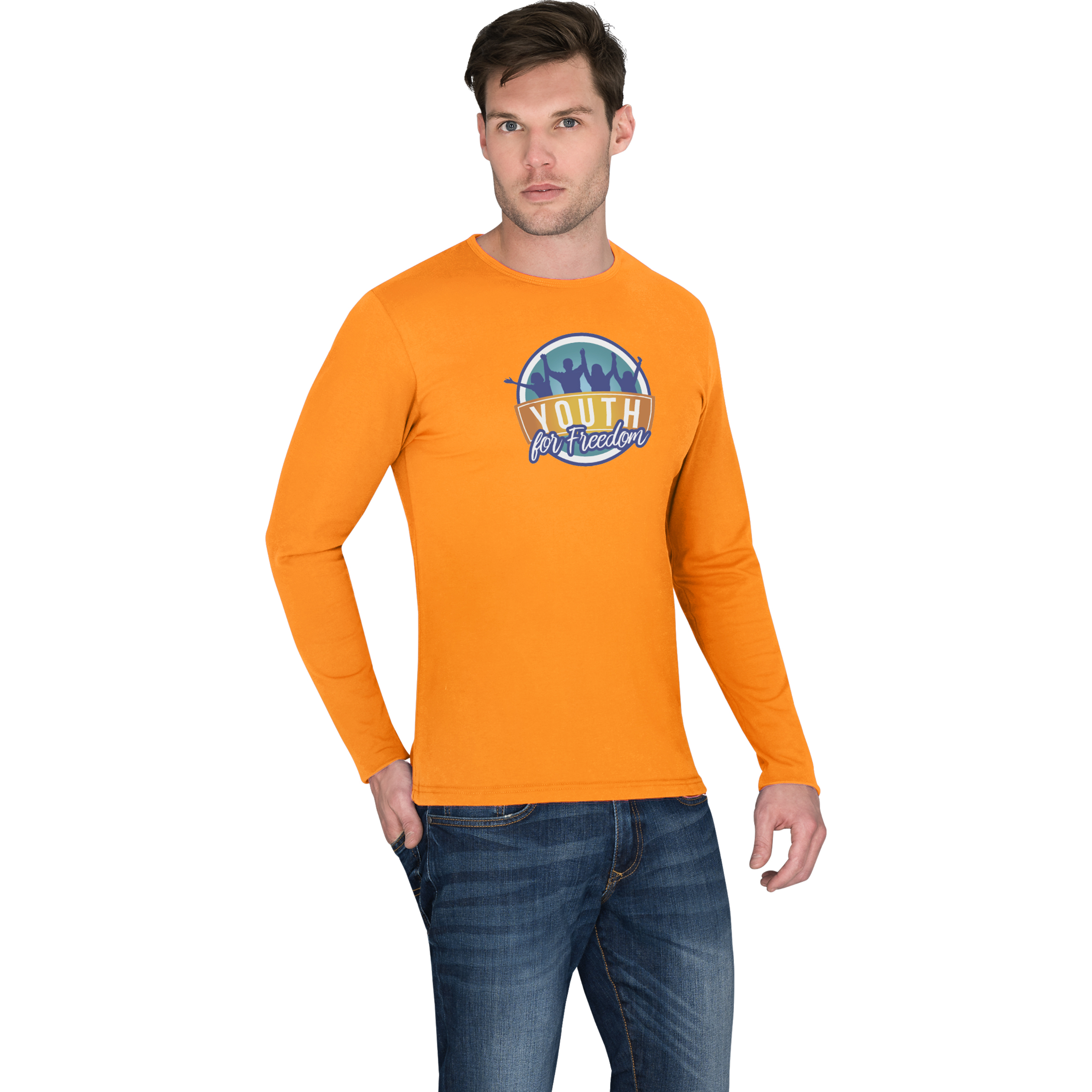 Mens Long Sleeve Portland T-Shirt