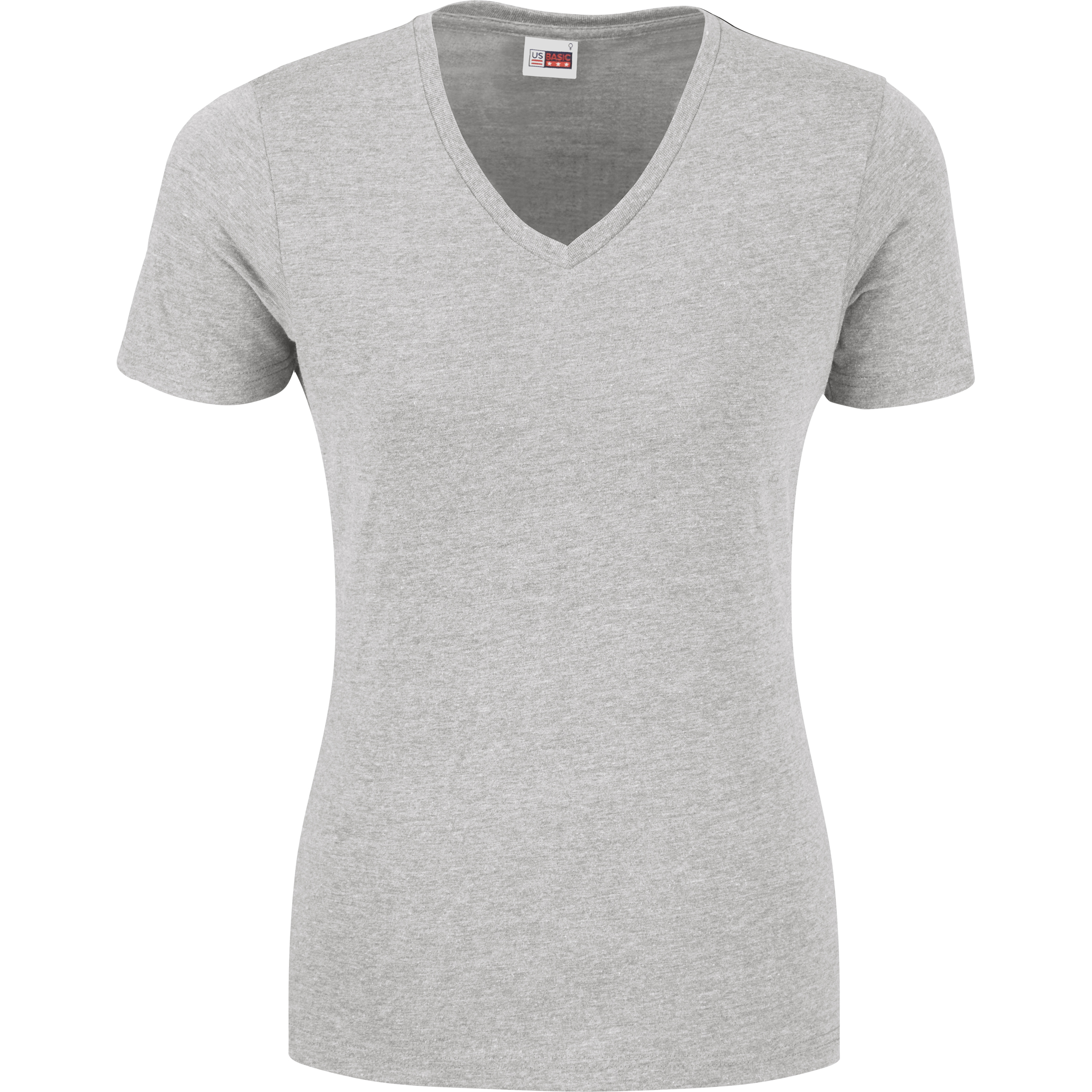 Ladies Michigan Melange V-Neck T-Shirt