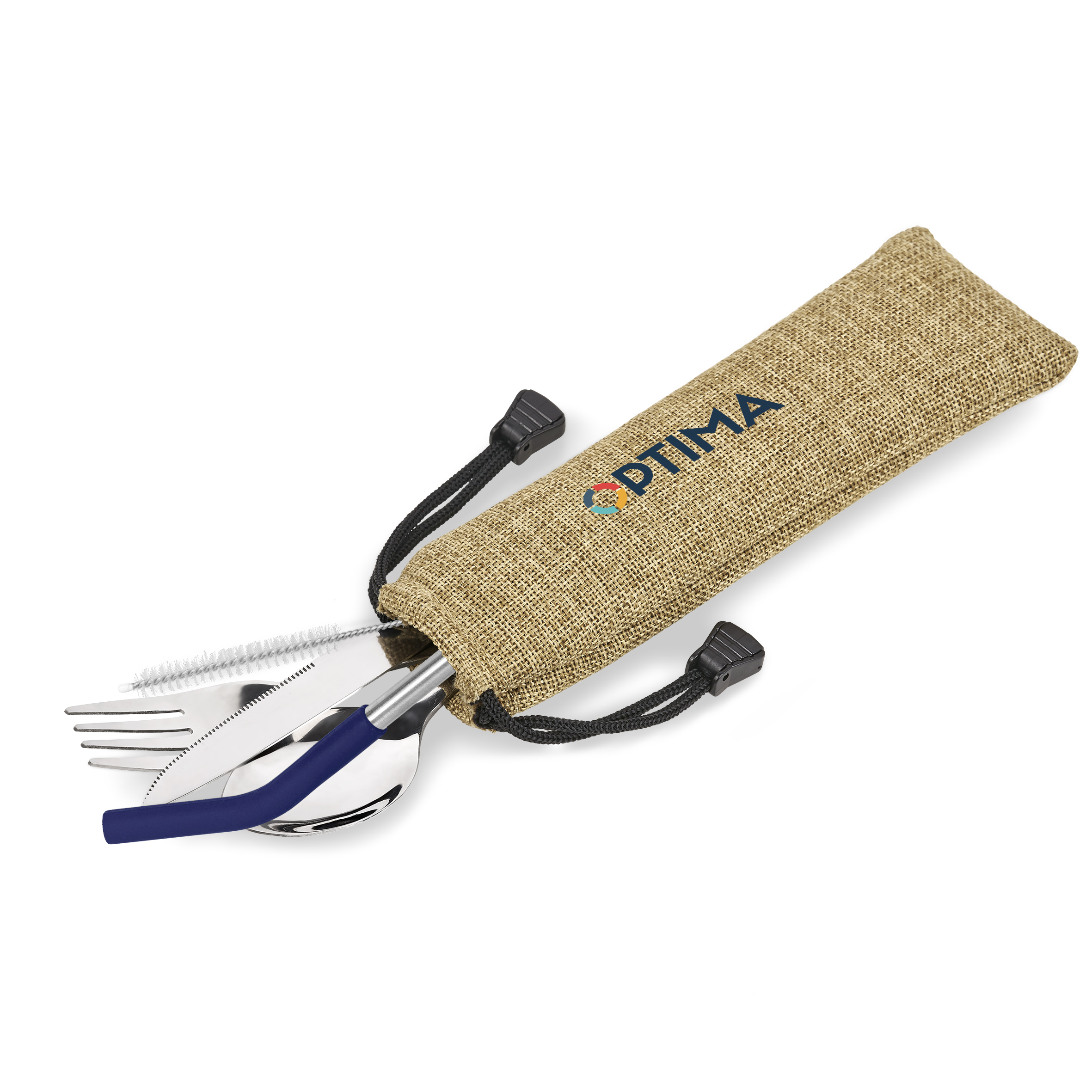 Kooshty Safari Cutlery & Straw Set