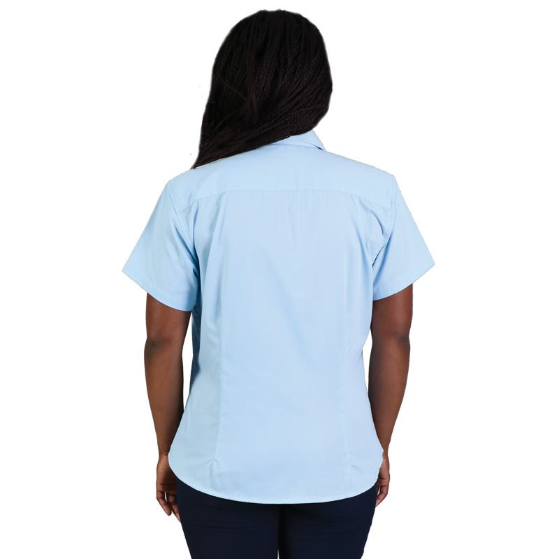 Ladies Classic Woven Shirt Short Sleeve