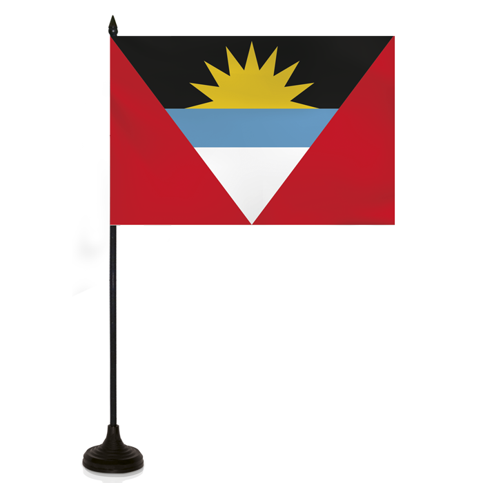 Desk Flag - ANTIGUA - BARBUDA FLAG