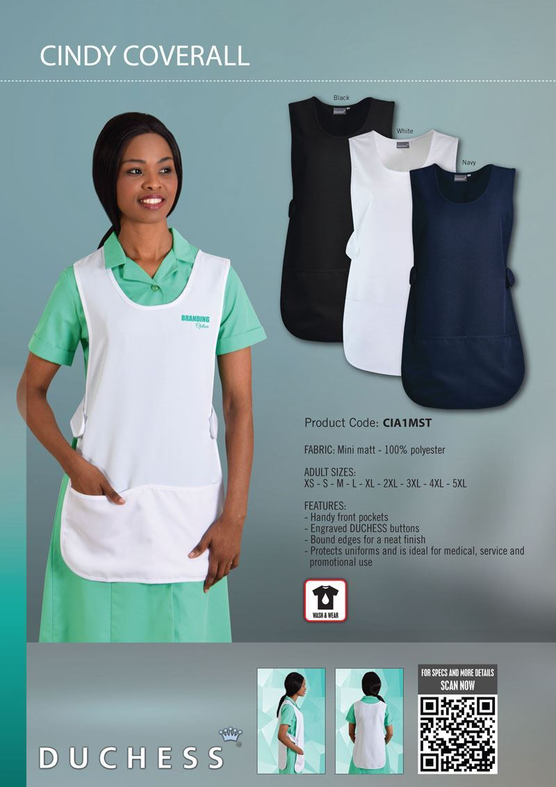 Cindy Coverall - While stocks last