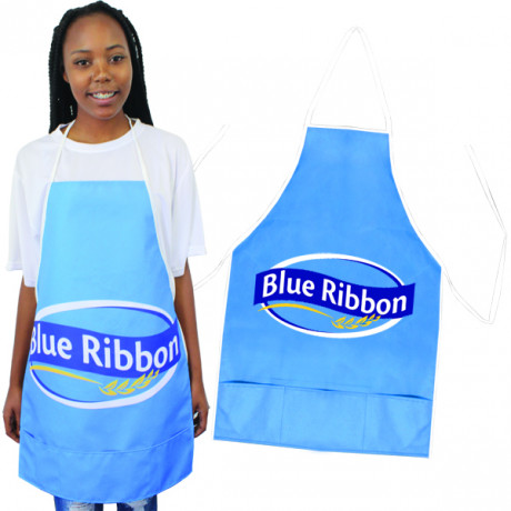 Alsen Full Colour Apron with Pocket with ful col