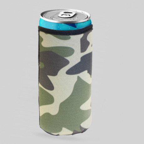 Camouflage Can Cooler 300ml with fC Sublimation