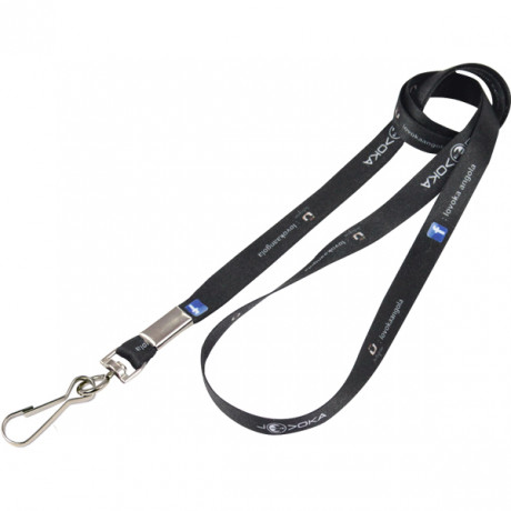 FC Narrow Lanyard 2 sided + Swivel with ful col