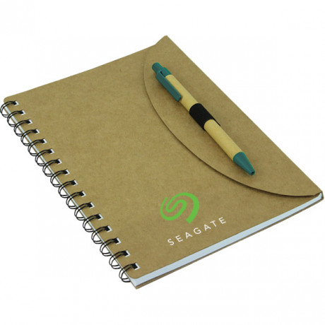Lotus A5 Eco Notebook with Pen A5