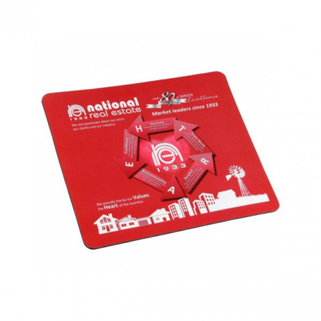 Rectangle Rubber Mousepad with Full colour