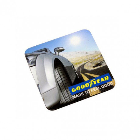Square Rubber Mousepad with Full colour