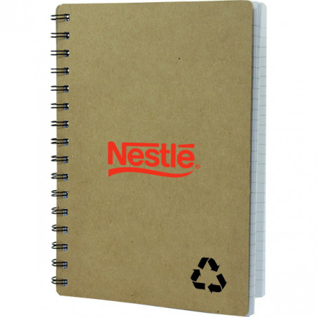 Sage A5 Eco Notebook with 1 col