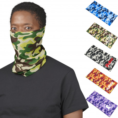Adults Camo Flexi Tubular Bandana