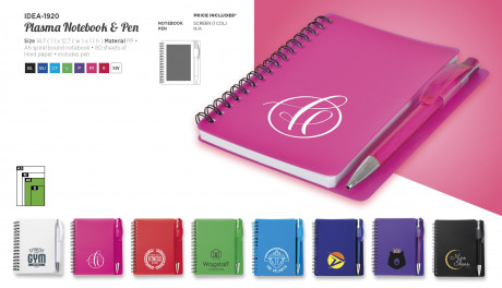 Plasma Notebook And Pen