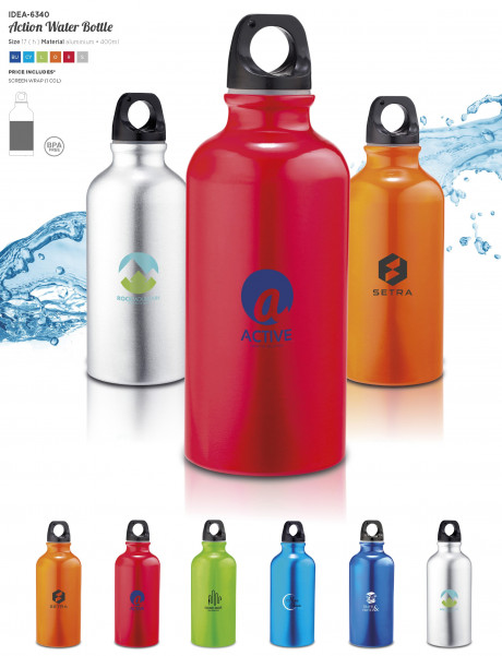 Action Water Bottle - 400ml