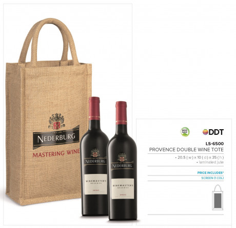 Provence Double Wine Tote