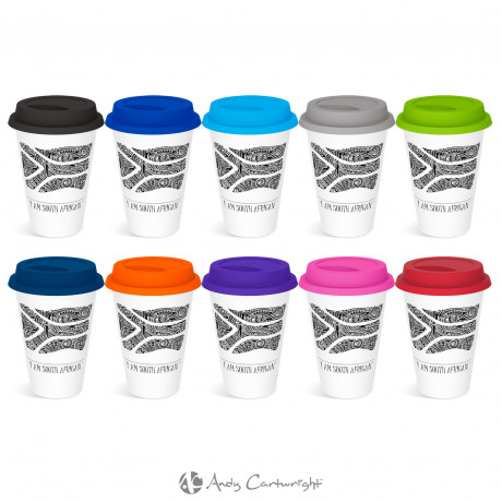 Andy Cartwright 'I Am South African' Tumbler - 320ml