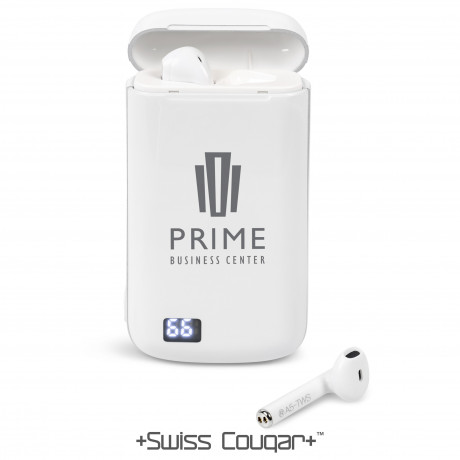 Swiss Cougar Oslo TWS Earbuds With 5200mAh Power Bank