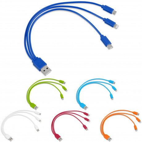 Hat-Trick 3-in-1 Charging Cable